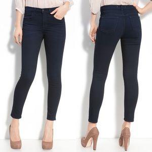 J BRAND Maria DYNAMITE Skinny dark jeans